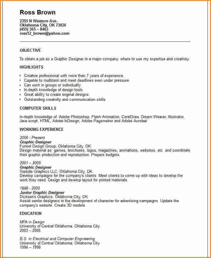 12+ graphic design cv examples   Invoice Template Download