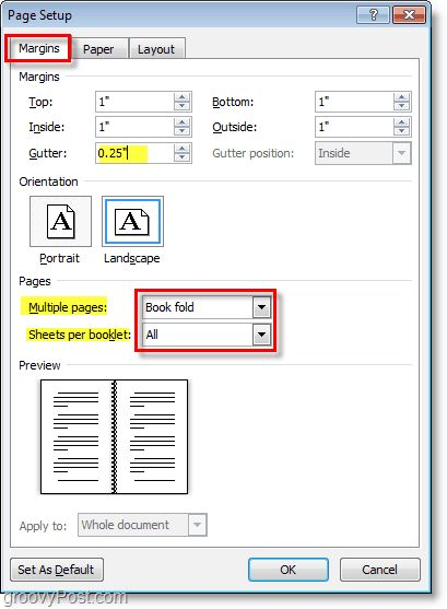 How-To Create Booklets Using Microsoft Word 2010