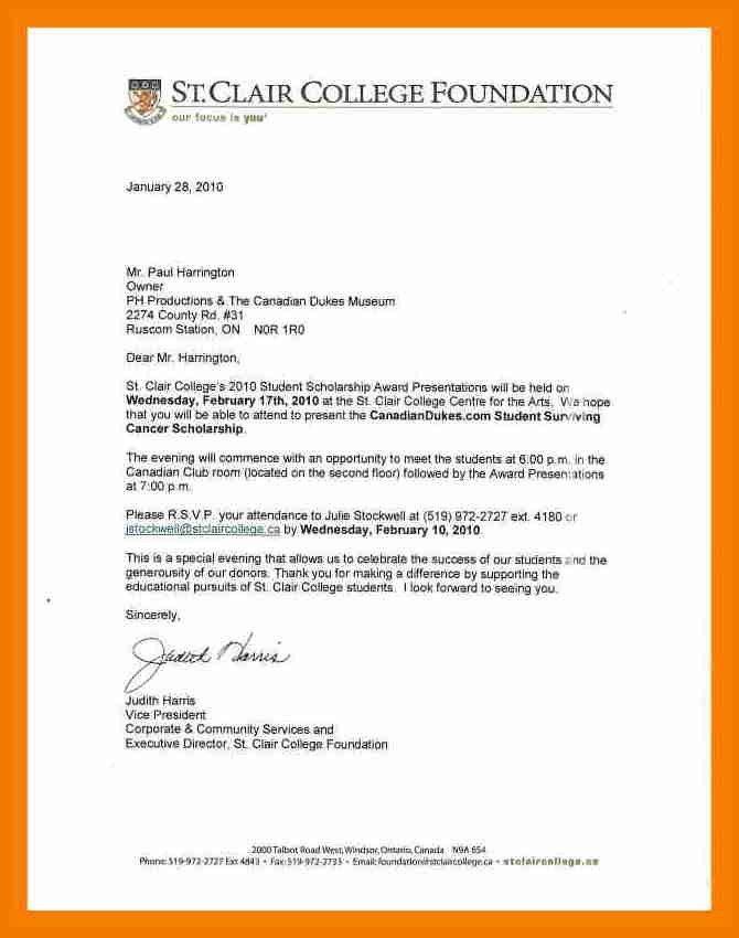 10+ scholarship award letter | resume holder