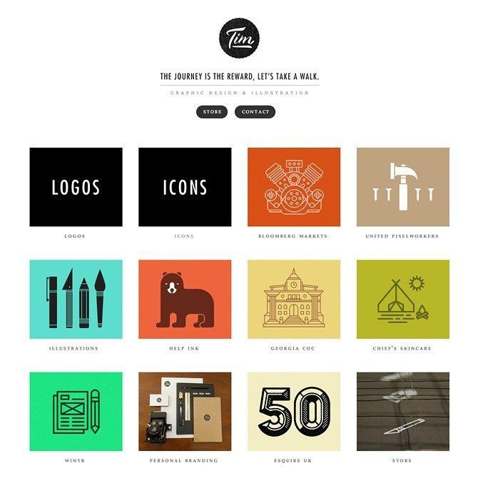 Cargo Collective Templates | Template Design