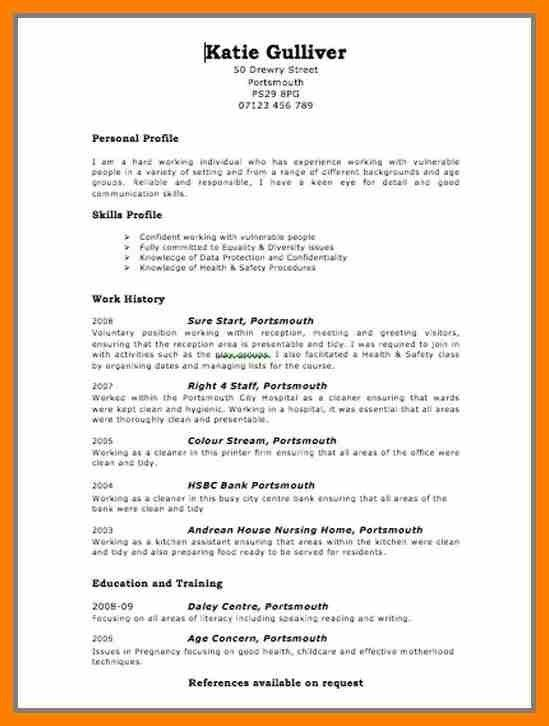 3+ free basic cv templates to download | hostess resume