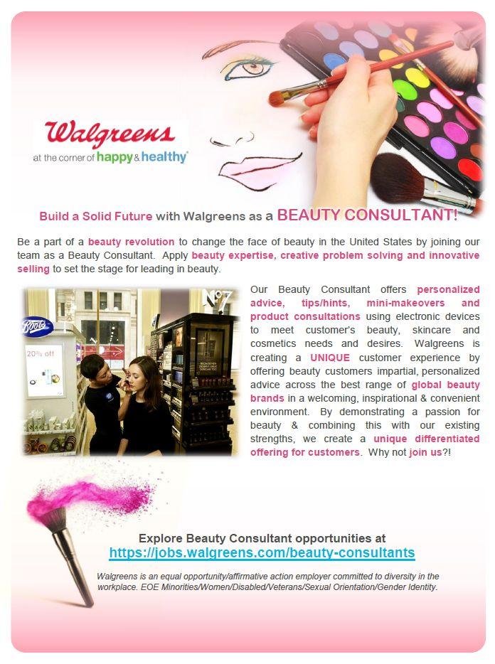 beauty advisor job description