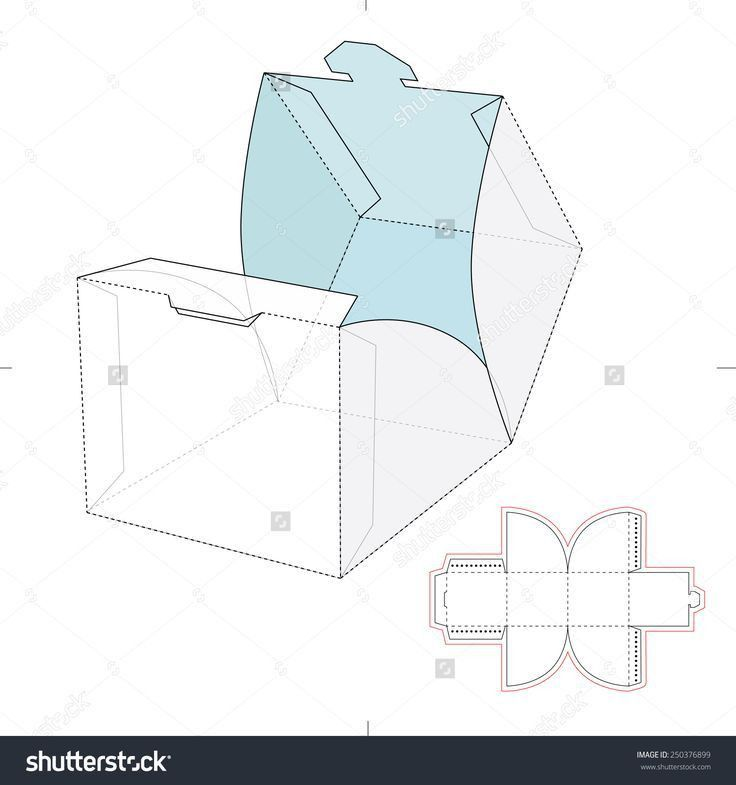 639 best packing template images on Pinterest | Boxes, Vector ...