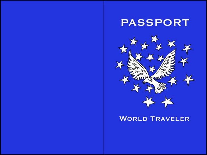 Passport Templates || Free & Premium Templates | Creative Template