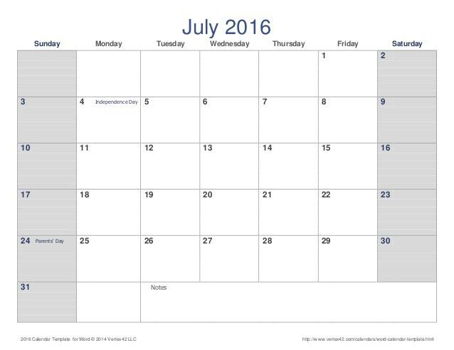 July 2016 Calendar Marathi | July Calendar Printable Template ...