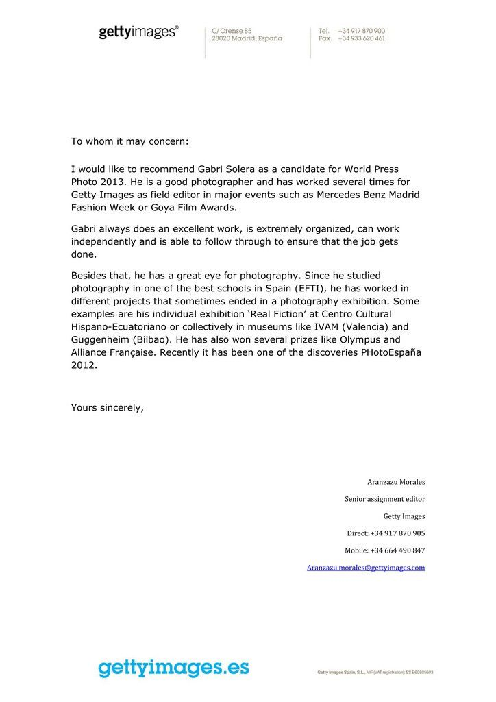 REFERENCE LETTER SAMPLE FOR EMPLOYMENT - SAMPLE FOR EMPLOYMENT ...