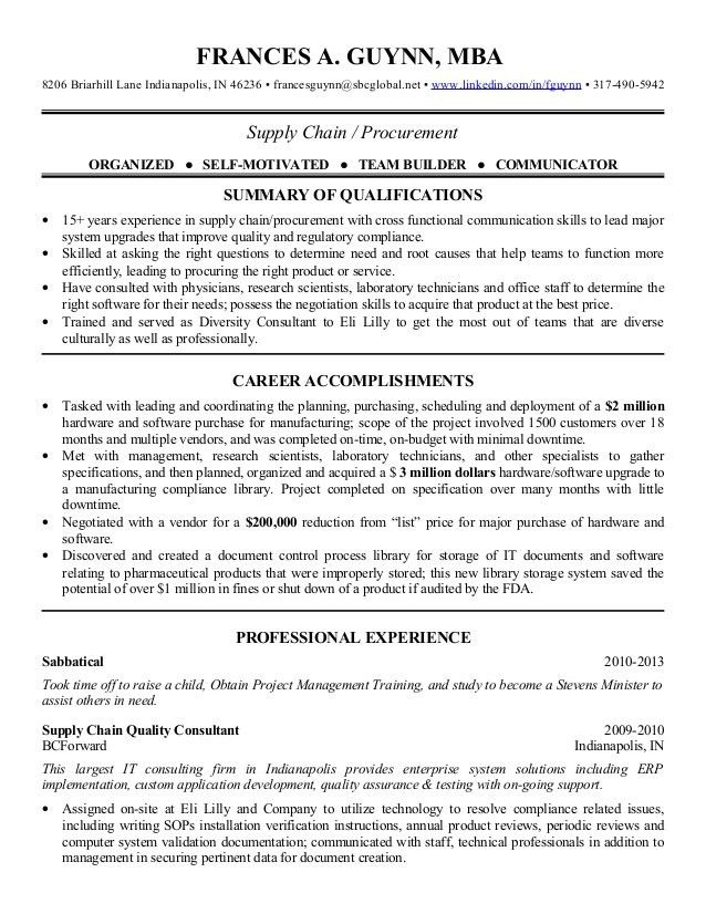 Charming Ideas Procurement Resume 11 Procurement Manager Resume ...