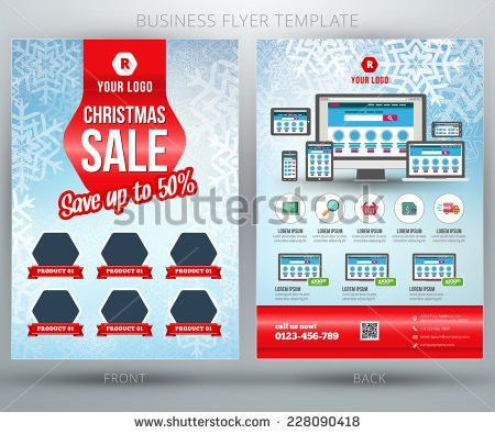 Sales Flyer Template Stock Images, Royalty-Free Images & Vectors ...