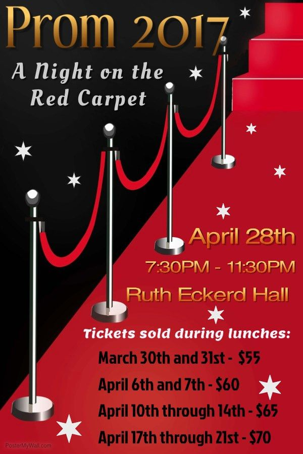 Prom tickets go on sale Mar. 30 | Gulf High School