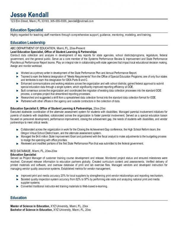 5 teacher resume examples high school teacher resume example1 free ...