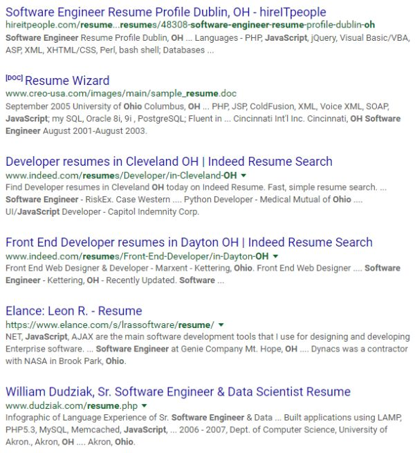 google sample resume google resume samples visualcv resume