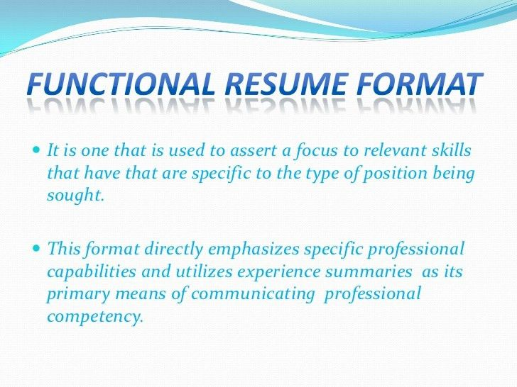 resume types and examples proper resume layout ideal resume format ...