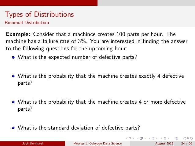 CO Data Science - Workshop 1: Probability Distributiions