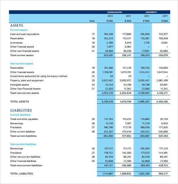 free income statement template