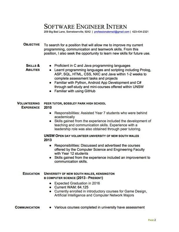 Extraordinary Resume Template For College Students 97 For Modern ...