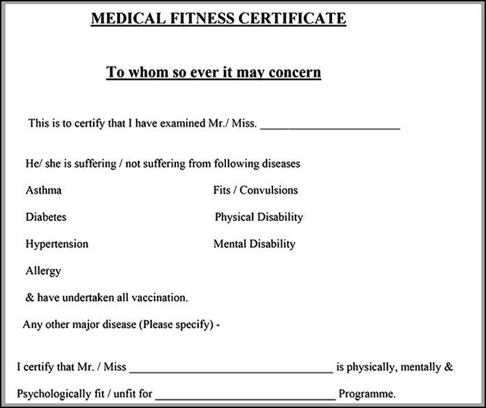 Use Fake Doctors Note Template To Survive - Little English Halo Blog
