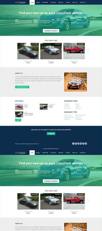 VEVS: Car Dealer Websites | Website Builder