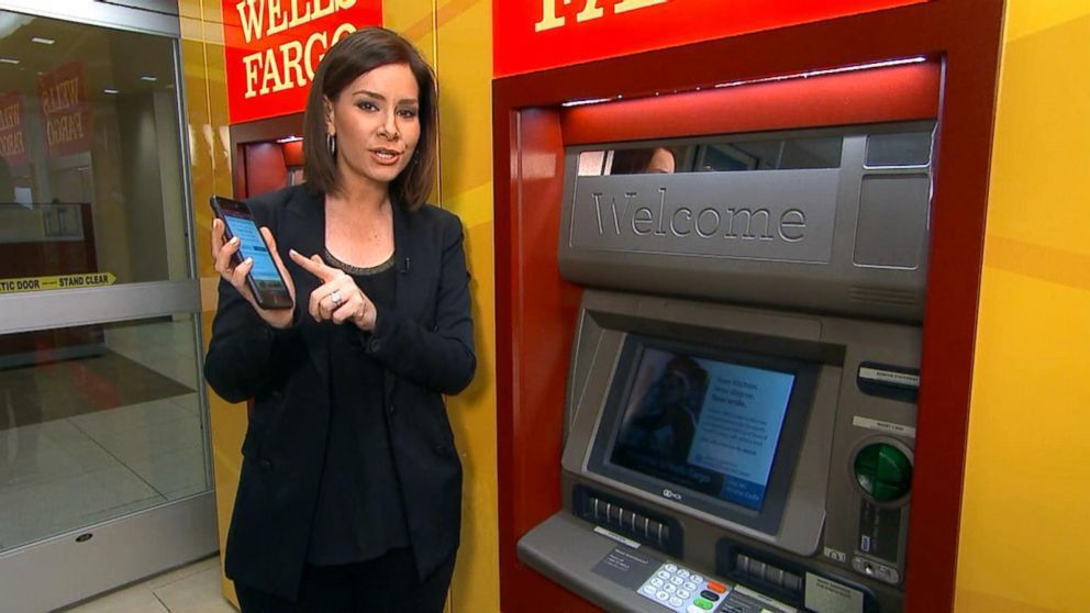 Wells Fargo bank debuts new cardless ATM machines Video - ABC News