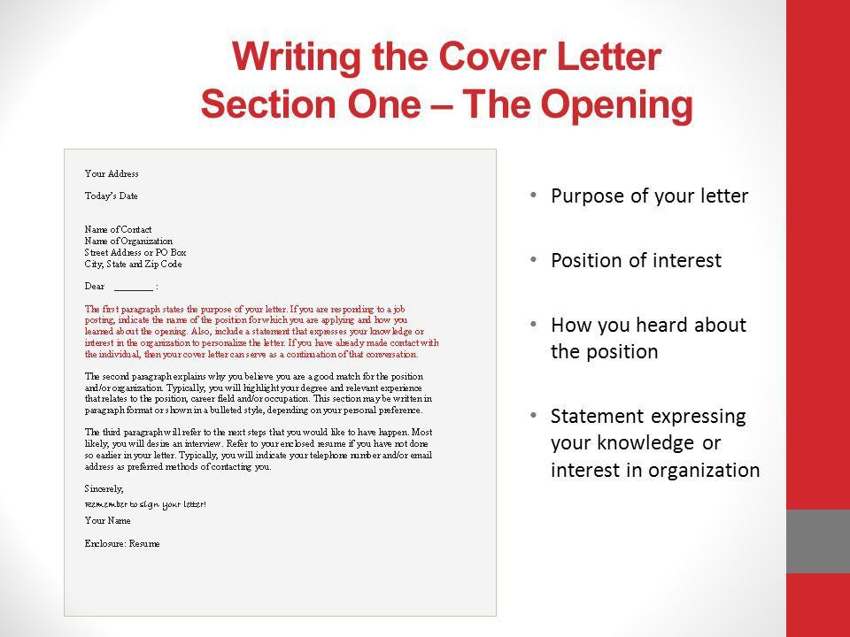 How to write a successful letter of application After9 Program ...