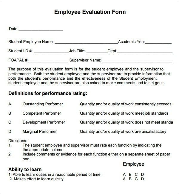 Employee Review Samples | World of Examples