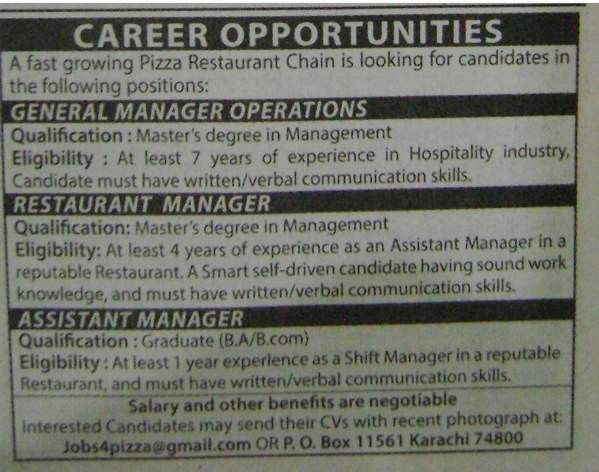 Assistant Manager job Archives - Jhang Jobs