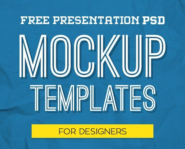 New Free Photoshop PSD Mockups for Designers | Freebies | Graphic ...