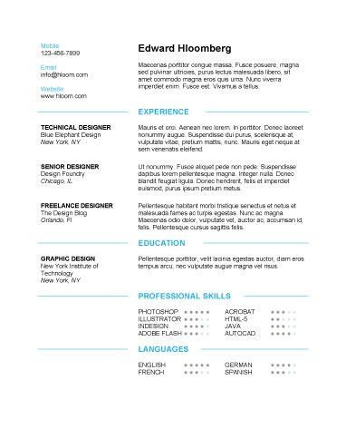 10 Free Resume Template Microsoft Word - Writing Resume Sample ...