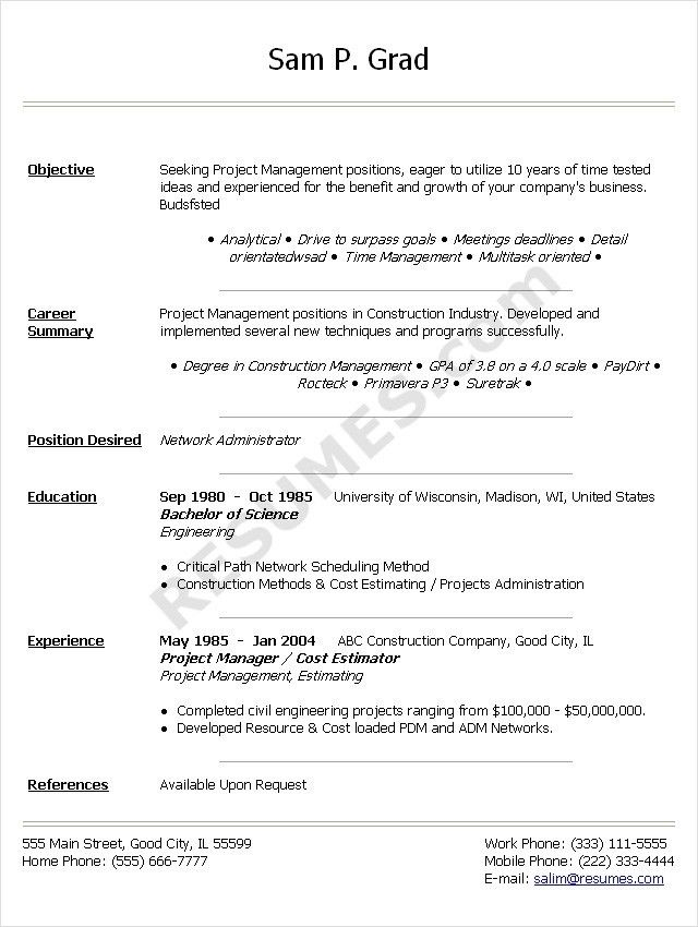Cio Cover Letter, it director \\u0026 cio sample resume; executive ...