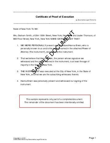 Affidavit of Execution (Pakistan) - Legal Templates - Agreements ...