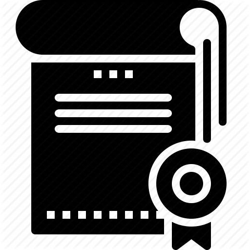 Achievement, certificate, certification, degree icon   Icon search ...