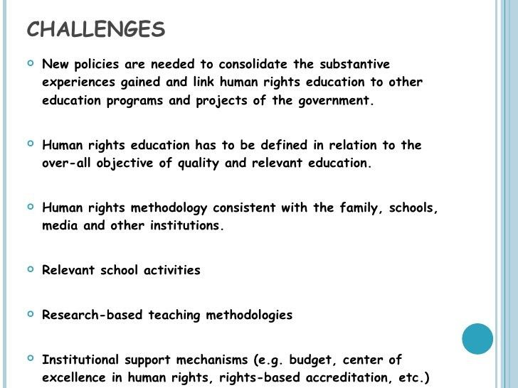 Human Rights in Philippine Schools