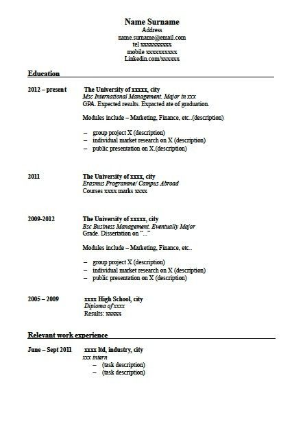 how to write a successful cv bbc news. 2017. resume template for ...