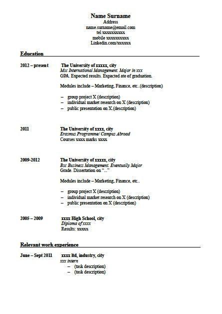 How to write a successful CV useful in UK | Internship UK