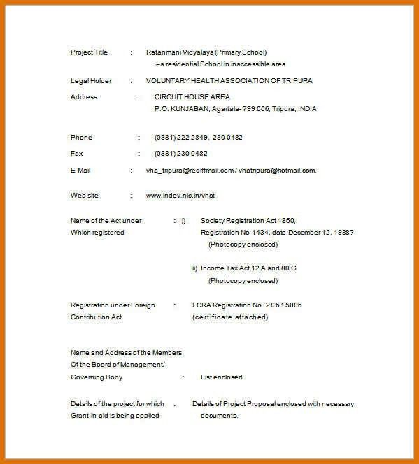 project proposal example   modern bio resumes