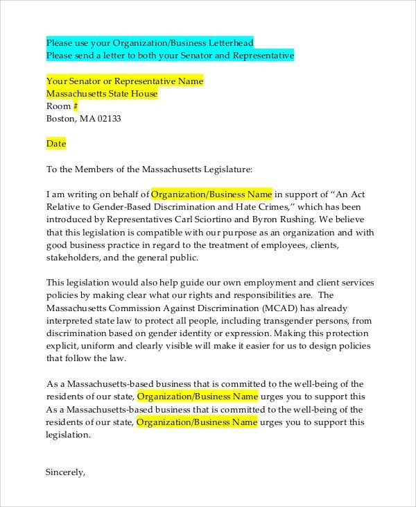 Letterhead Example - 9+ Samples in Word, PDF