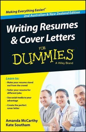 Wiley: Writing Resumes And Cover Letters For Dummies   Australia .