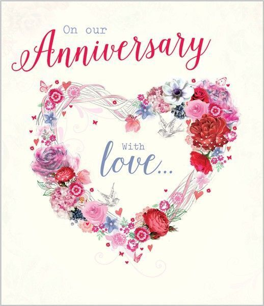 266 best Happy Anniversary images on Pinterest | Anniversary cards ...