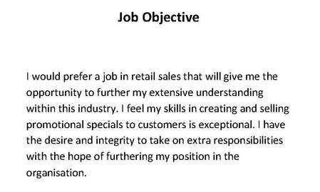 splendid resume sample objectives 13 objectives for resume ...