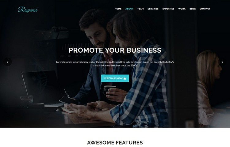 40+ Best Free Premium Bootstrap Landing Page Templates & Themes