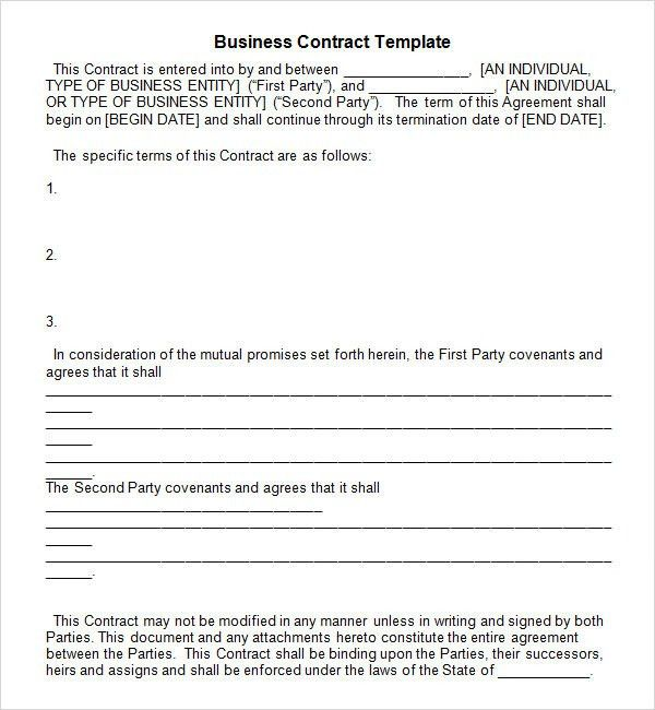 Business Agreement Between Two Parties : 19 Perfect Examples of ...