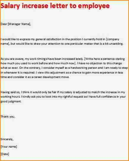 Awesome Salary Proposal Letter Contemporary - Best Resume Examples ...