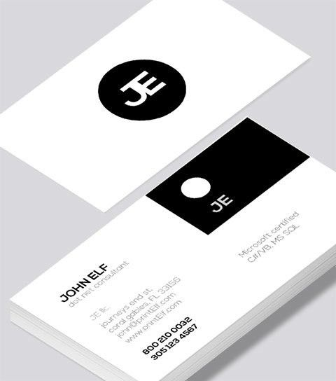 Dot Net Consultant business card - Modern Design