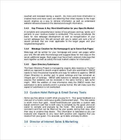 Marketing Proposal Template - 7+ Free PDF Documents Download ...