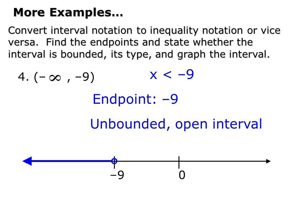 Recall the real number line: Origin Pos. real numbers Neg. real ...