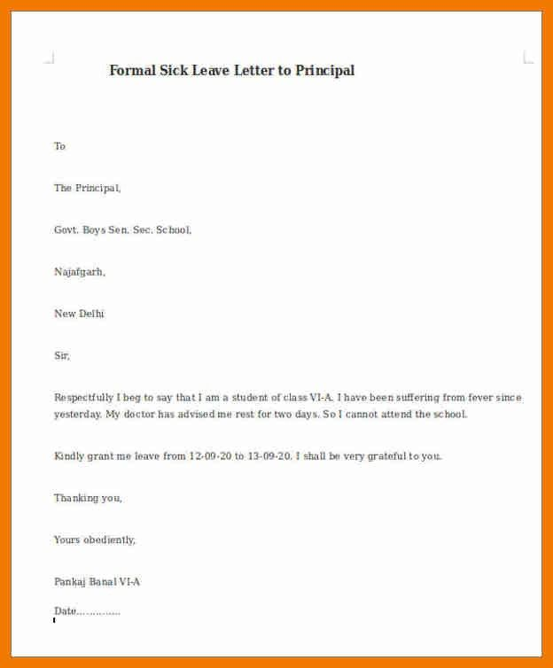 Formal Excuse Letter. Apology Letter For Not Attending Interview .