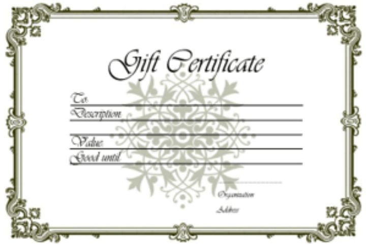 Gift Certificate - CosmoSynergy Medi-Tech & Org