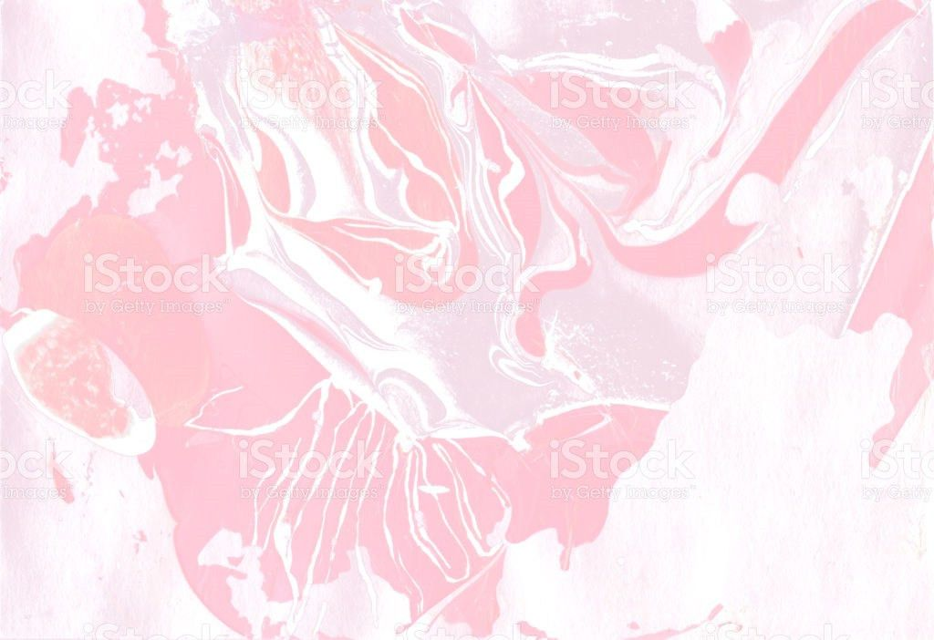 Marbling Hand Made Paper Diy Organic Texture Beauty Pink White And ...