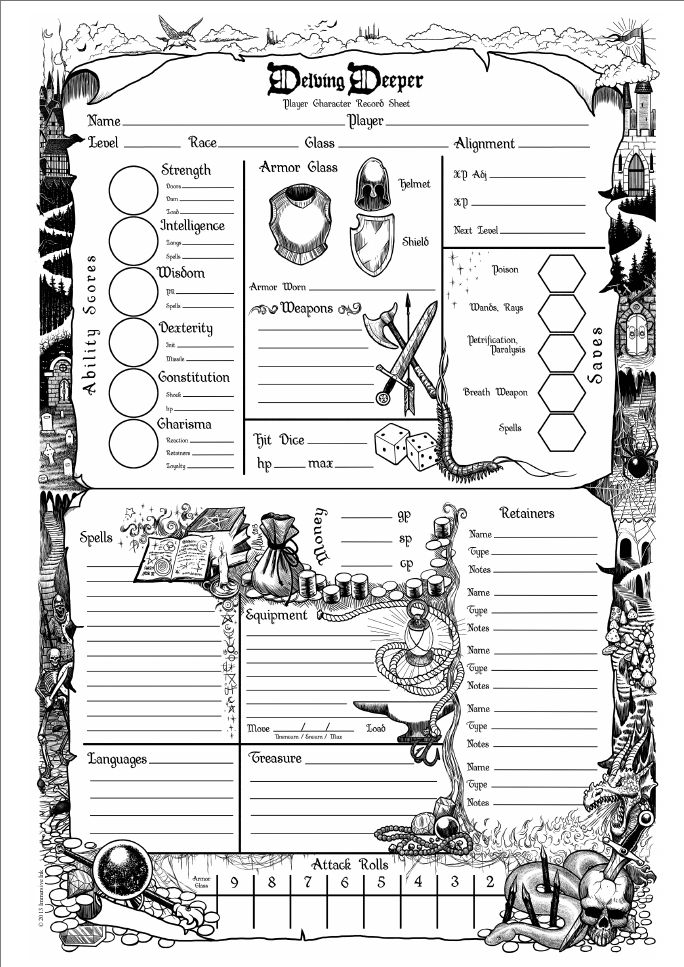 Cool character sheets – Runkle Plays Games (R.P.G.) | D&D ...