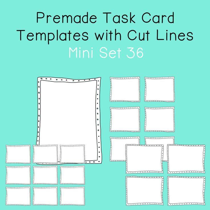 Task Card Template - Ecordura.com