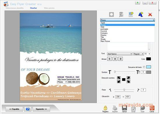Download Easy Flyer Creator (4.1) - Free